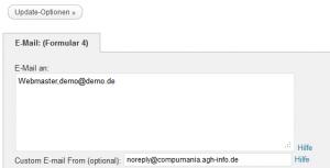 E-Mail-Adresse eingeben